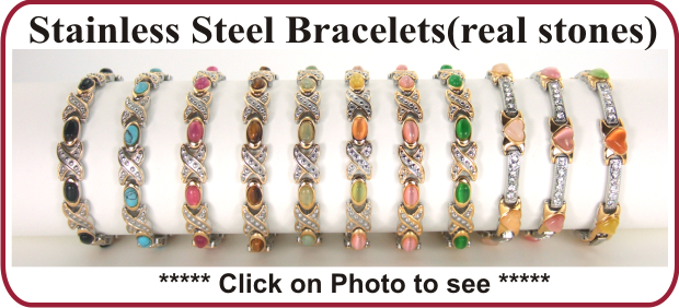 magnetic stainless steel bracelets