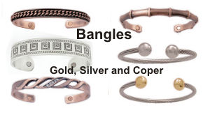 magnetic copper bangles and bracelets