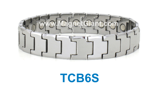 Magnetic Tungsten Carbide Bracelet