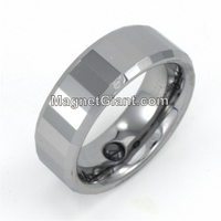 Tungsten Carbide Ring, Men's Wedding Rings